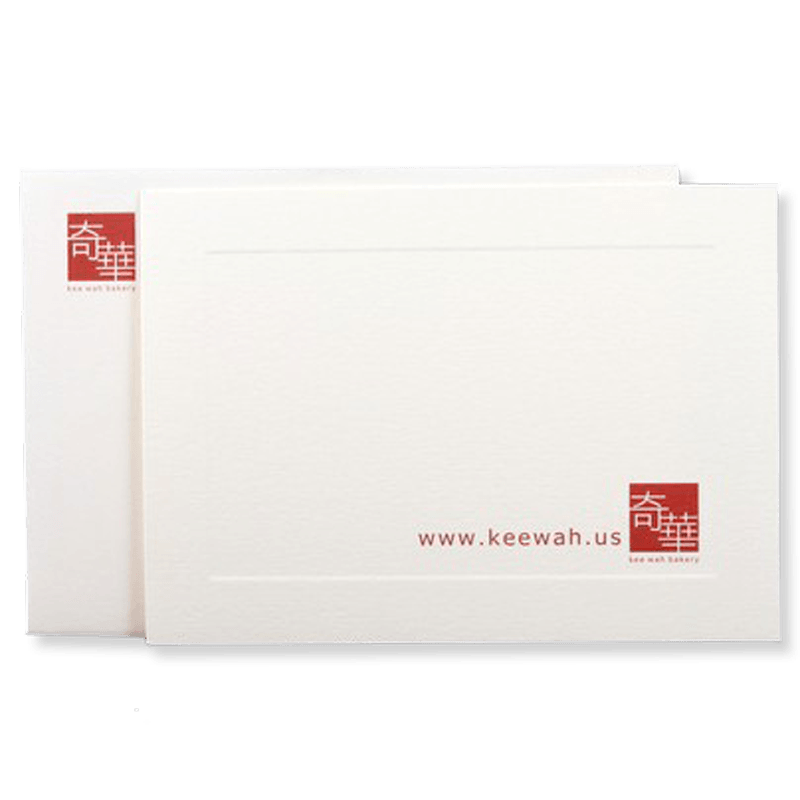 Personalized Gift Note Card