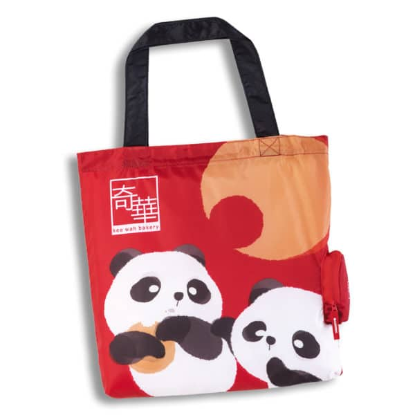 Free Exclusive Kee Wah Panda Eco-Bag