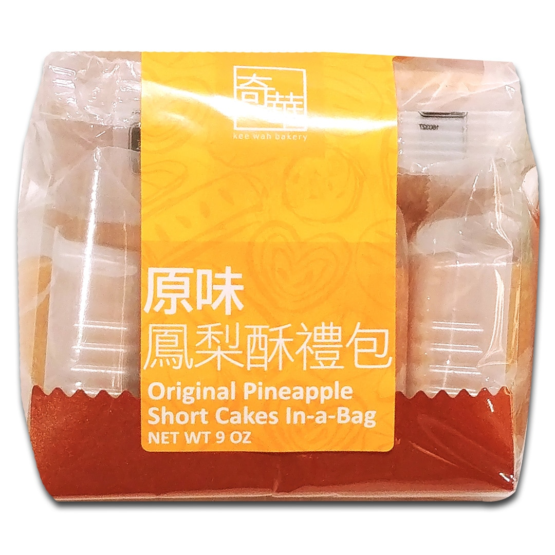 Original Pineapple Short Cakes In-a-bag (6pcs)